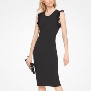 Michael Kors Sheath Crepe Party Dress Size Small